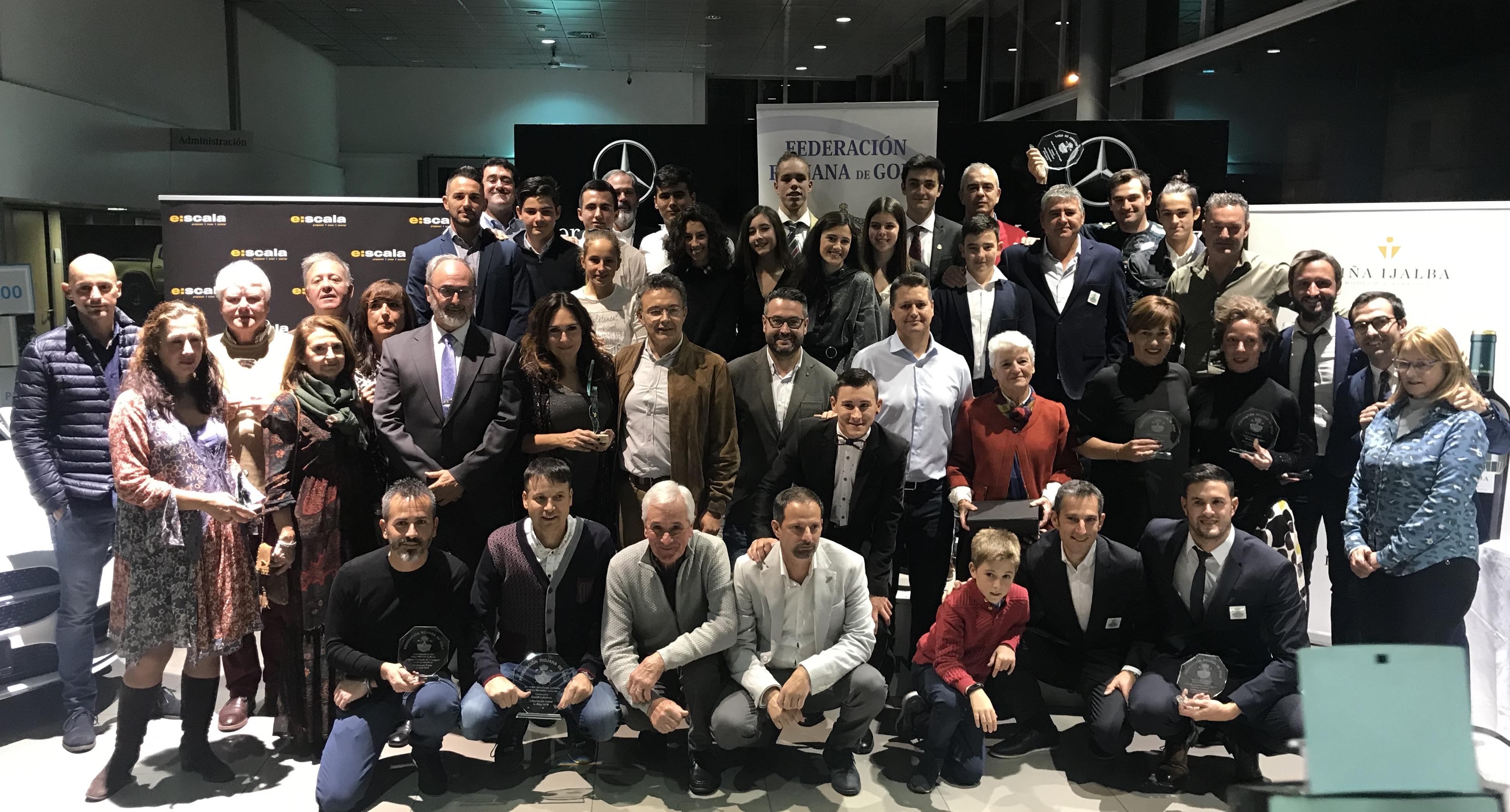Gala Federación Riojana de Golf 2018