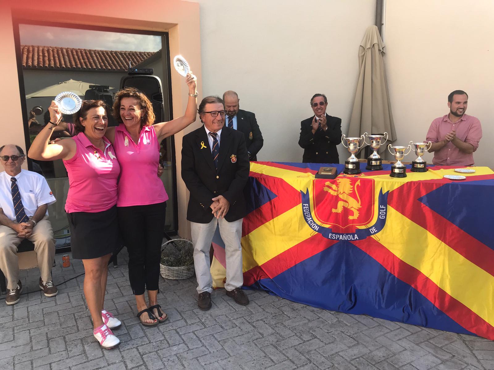 Campeonato de España Dobles Senior Femenino 2018