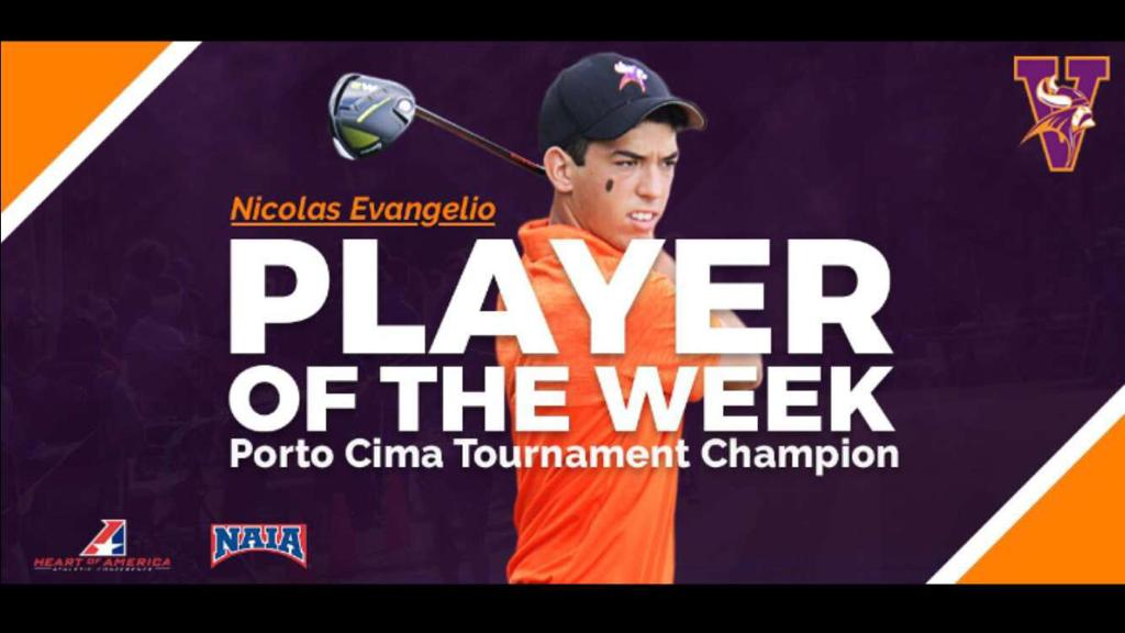 "Nicolás Evangelio galadornado como ""Player of the Week"""