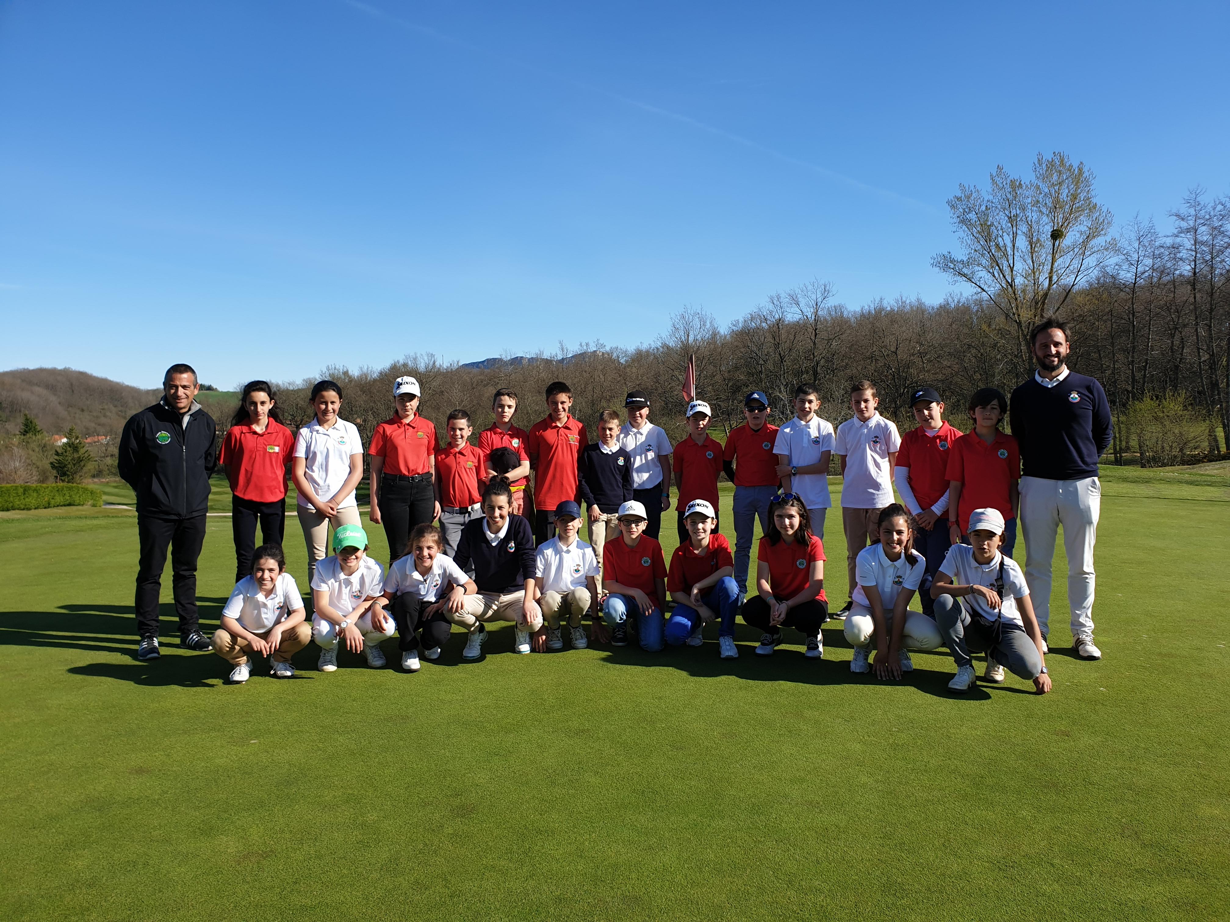 Match Infantil Federación Riojana de Golf vs Federación Alavesa de Golf 2020