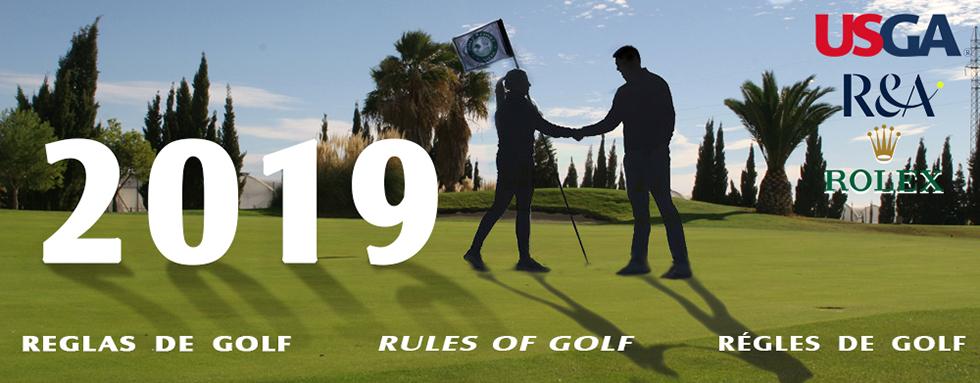 Curso de Árbitro para la Federación Riojana de Golf 2019