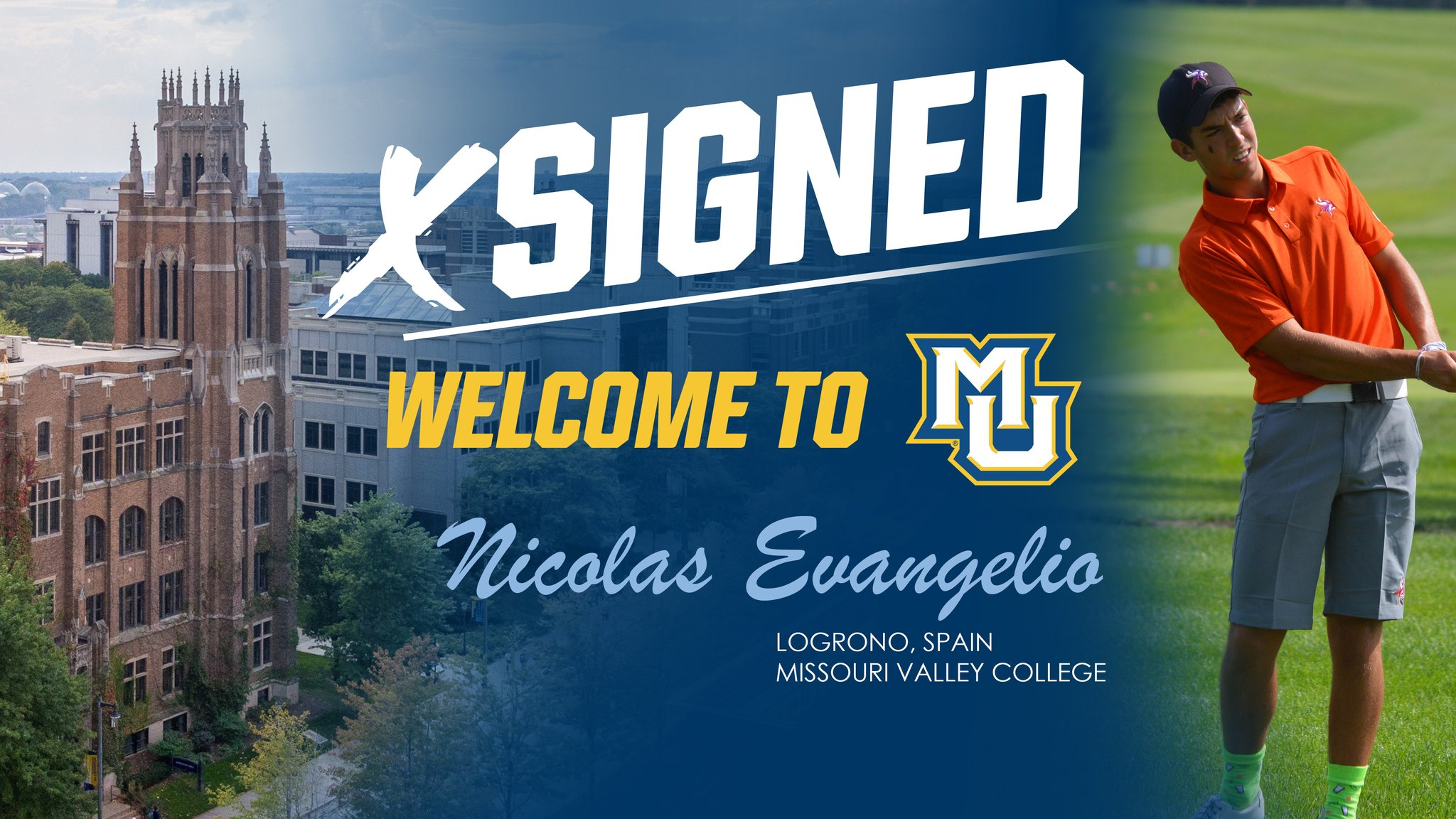 Nicolás Evangelio, nuevo jugador de Marquette University